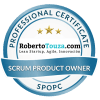 scrum Product Owner professional certificate roberto touza david