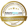 scrum advanced professional certificate roberto touza david